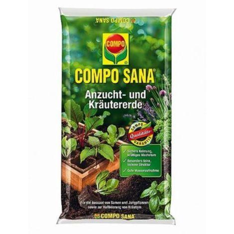 COMPO Sana Anzucht und Kräutererde 5 Ltr