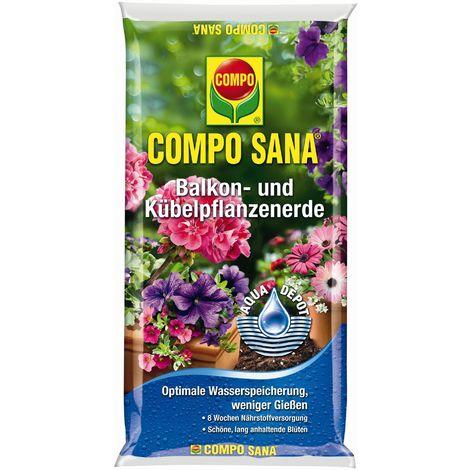 COMPO SANA® Balkon- u. Kübelpflanzenerde 30 Liter