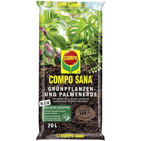 COMPO SANA® Grünpflanzen- und Palmenerde 20 Liter