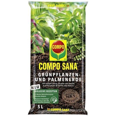 COMPO SANA® Grünpflanzen- und Palmenerde 5 Liter