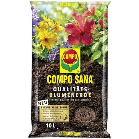 COMPO SANA® Qualitäts - Blumenerde 10 Liter