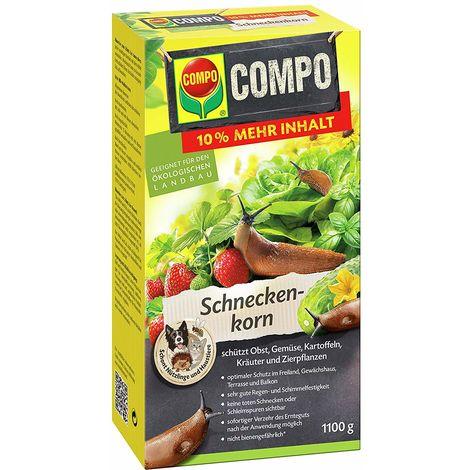 Compo Schneckenkorn 1100 g Packung