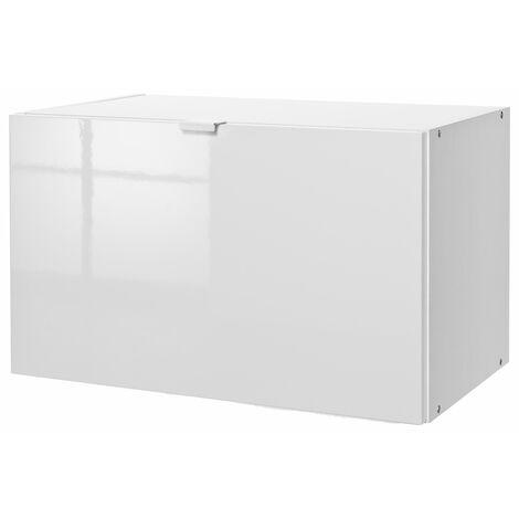 COMPOSAD Modulo anta ribalta per libreria LB0730 LB0731 laccato bianco AN0733 L59h36p35