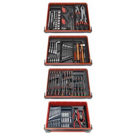 Composition 12 modules pour 4 tiroirs servante Facom CM.V8PB 1707.84