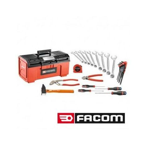 Composition 26 outils en boîte plastique Facom 202.61