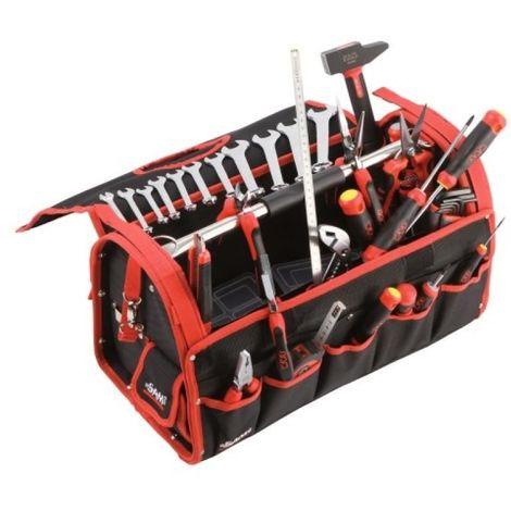 Composition 33 outils boîte textileCP33BAZ