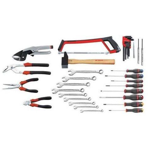 Composition 35 Outils premier équipement Servante facom 324.12