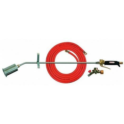 Composition de chalumeau chauffeur, Puissance : 35260 kJ/h, Consommation de gaz pour b.P - 4 bars 7600 g/h
