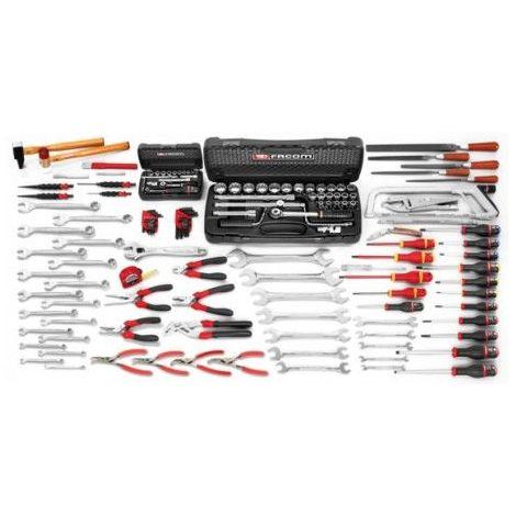 Composition d'outils FACOM 130 pièces - Spécial mécaniciens - CM.130APB