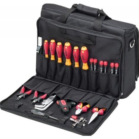 Composition électricien 29 outils en valise