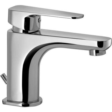 Composizione Sly, miscelatori lavabo, bidet e doccia in ottone cromo