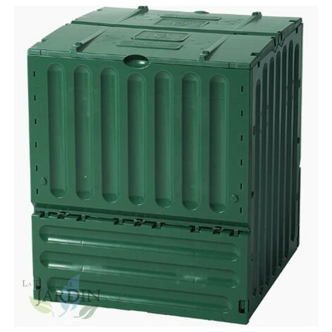 Compostador polipropileno 400 litros 70x70x83 cm