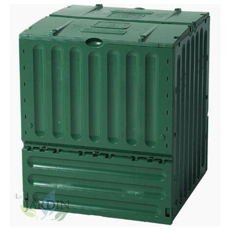 Compostador polipropileno 600 litros 80x80x95 cm