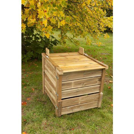 Composteur 350 litres en pin traité