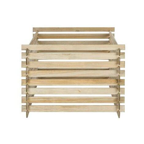 Composteur domestique bois 530 litres