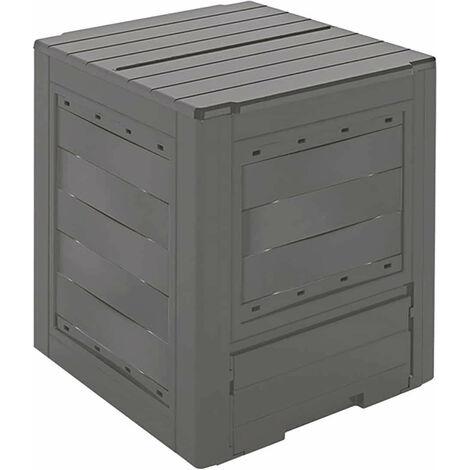 Composteur Organic Gardiun 260 L 60x60x73 cm Plastique Recyclé