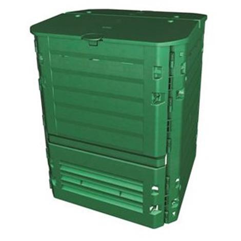 Composteur Thermo-KING VERT 400L - Dim : 74 x 74 x Ht 84 cm