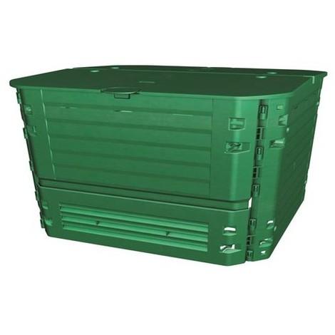 Composteur Thermo KING VERT 600 L - Dim : l 80 x L 80 x H 84 cm