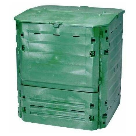 Composteur Thermo-King Vert + grille de fond