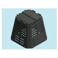 COMPOSTIERE BRIXO ECOBOX RUGBY 420LT DA GIARDINO 89X89X80H