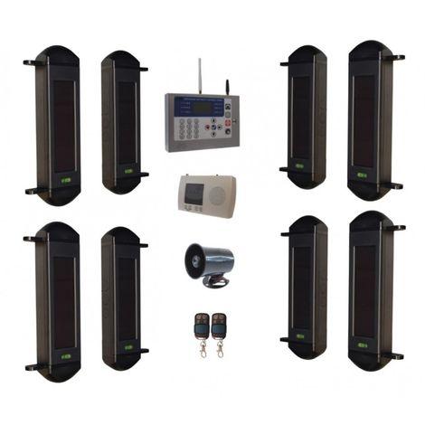 Comprehensive 1B-100 Wireless Perimeter Alarm, H/D GSM Auto-Dialler & Wired Siren