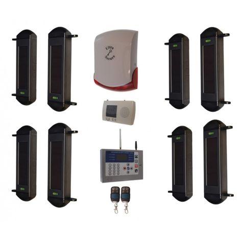 Comprehensive 1B-100 Wireless Perimeter Alarm, H/D GSM Auto-Dialler & Wireless Siren