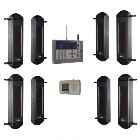 Comprehensive 1B-100 Wireless Perimeter Alarm with H/D GSM Auto-Dialler
