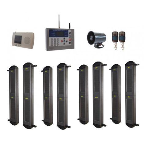 Comprehensive 2B-100 Wireless Perimeter Alarm, H/D GSM Auto-Dialler & Wired Siren