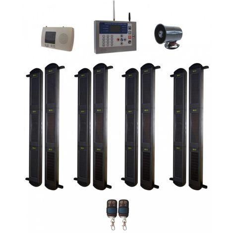 Comprehensive 3B-100 Wireless Perimeter Alarm, H/D GSM Auto-Dialler & Wired Siren