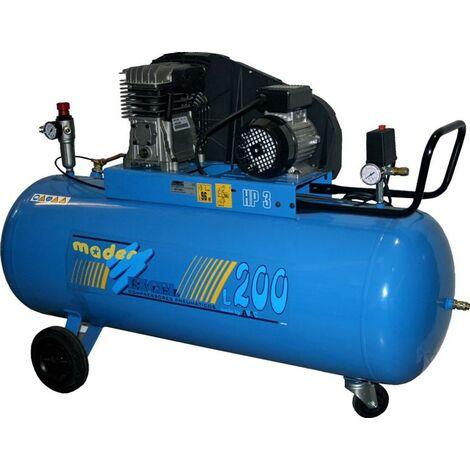 Compresor 200 L, 3.0hp Co Correas - Trifásico - ABAC®