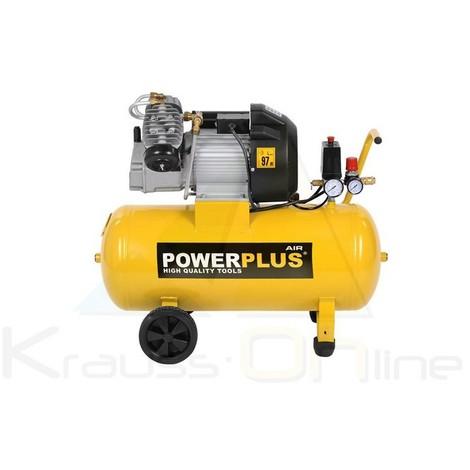 Compresor 2200w 3cv 50l aceite (POWX1770)