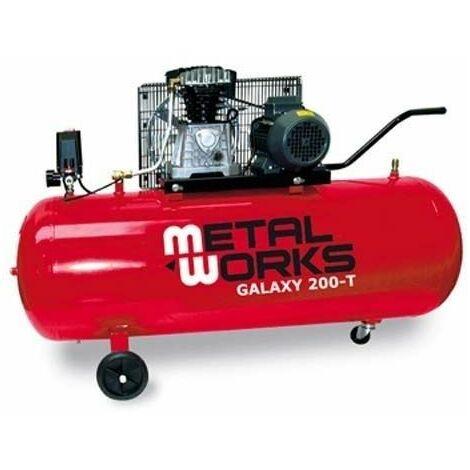 Compresor 330 ltr/min METALWORKS Galaxy 200-T