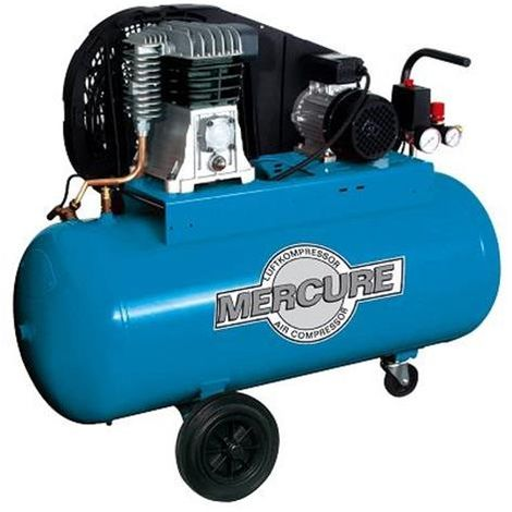COMPRESOR 3HP. 100L. MERCURE NUAIR B2800B100