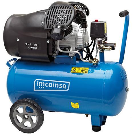 Compresor 3Hp C/Aceite 8Bar 50 L - IMCOINSA - 0453E