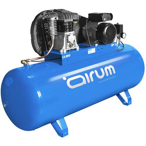 Compresor 3Hp C/Aceite 9Bar 200 L - AIRUM - 28LN504LEV129