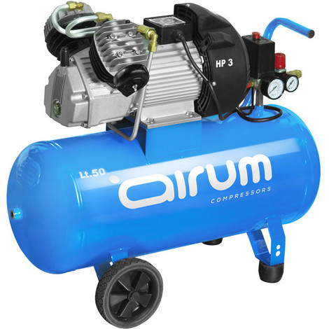Compresor 3Hp Con Aceite 9 Bar 50 L - AIRUM - 8119500Lev517