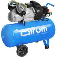 Compresor 3Hp Con Aceite 9 Bar 50 L - AIRUM - 8119500Lev517