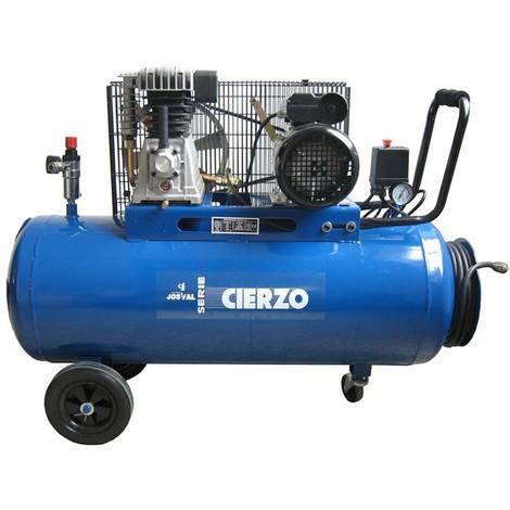 Compresor 3Hp Correas 6 - 8 Bares - Josval 100 Litros C-3/100M