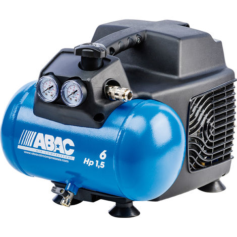 COMPRESOR ABAC START O15 1,5HP 6L S/ACEITE