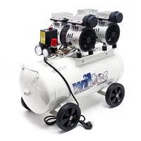 Compresor aire con tanque 50L 1CV 750W Compresor silencioso de taller Trabajos aire comprimido