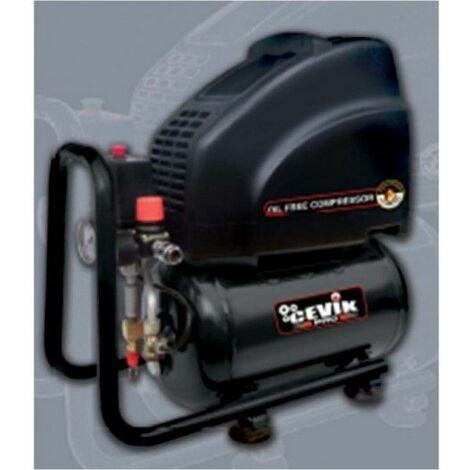 Compresor Coaxial 2 Cv 10Lt 8 Bar Sin Aceite Pro10Sa Cevik
