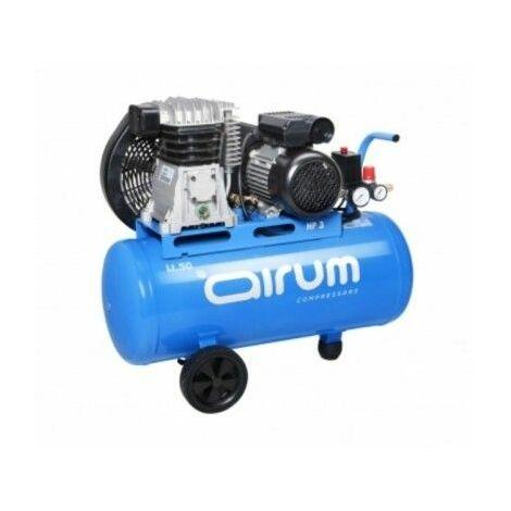 Compresor Correas 2 Cv 50Lt-2225Lt/M 9 Bar Con Aceite Airum