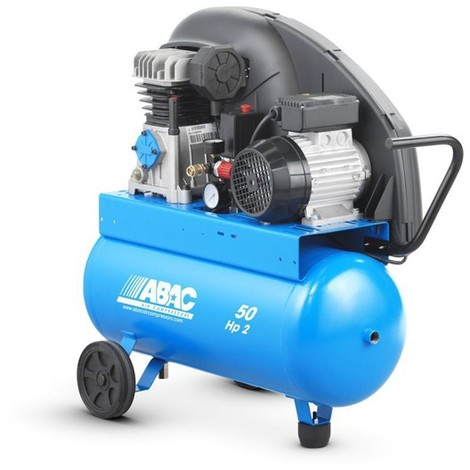 Compresor Correas 2Hp 10 Bares Abac A29-50Cm2