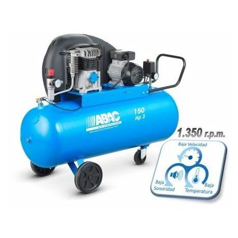 Compresor Correas 3 Cv 150Lt 10 Bar Con Aceite 4116024137 Abac