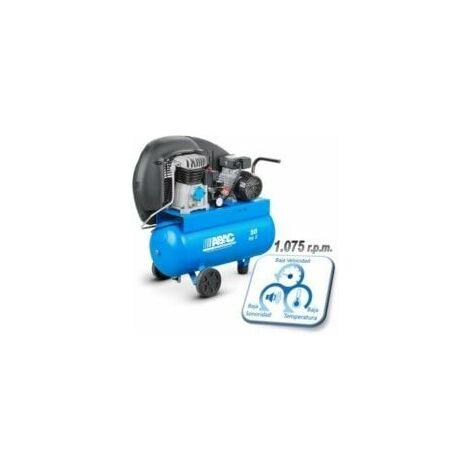 Compresor Correas 50lt C/aceite 2cv 10bar 255l/min