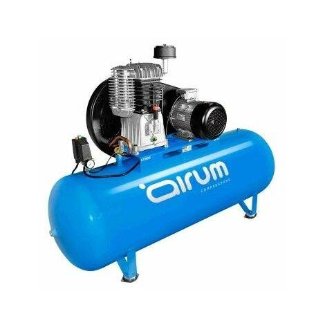 Compresor Correas 7,5 Cv 500Lt-840Lt/M 11 Bar Con Aceite Airum