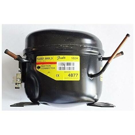 Compresor Danfoss/Secop R600 Gas - Modelo Tles7,5Kk.3 - 125w (1/6 cv)