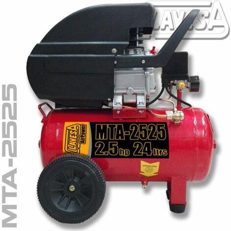 Compresor de 2.5 Hp y 24 litros MITO MTA-2525 Clavesa