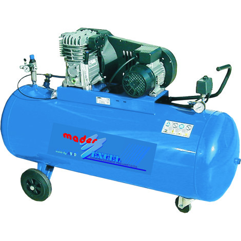 Compresor de air Trifasico ABAC 270 Lts - 4 Hp