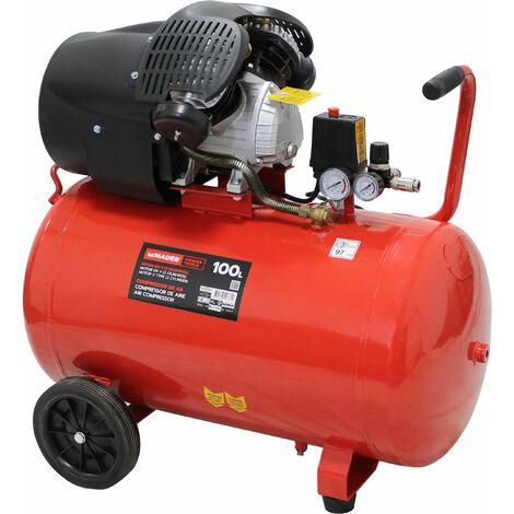 Compresor de Aire, 100L, 3HP - MADER® | Power Tools